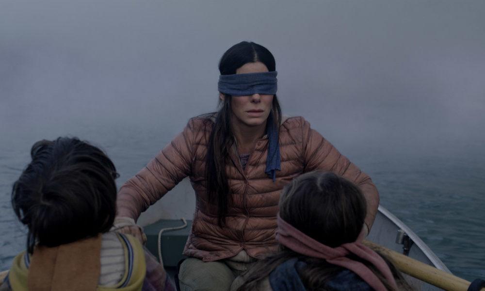 Sandra Bullock in Bird Box/Netflix