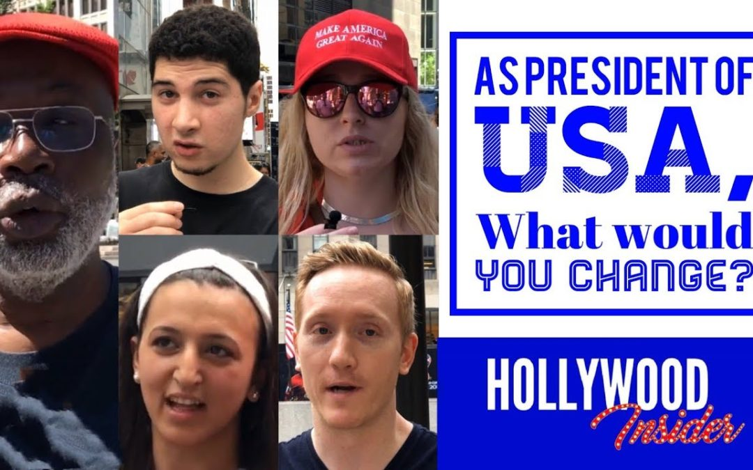 Episode 4: If You Are President For One Day, What Would You Change? | Messages From America | Hollywood Insider