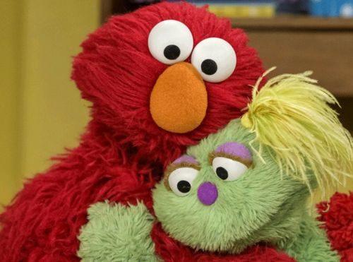 Elmo And Karli Sesame Street