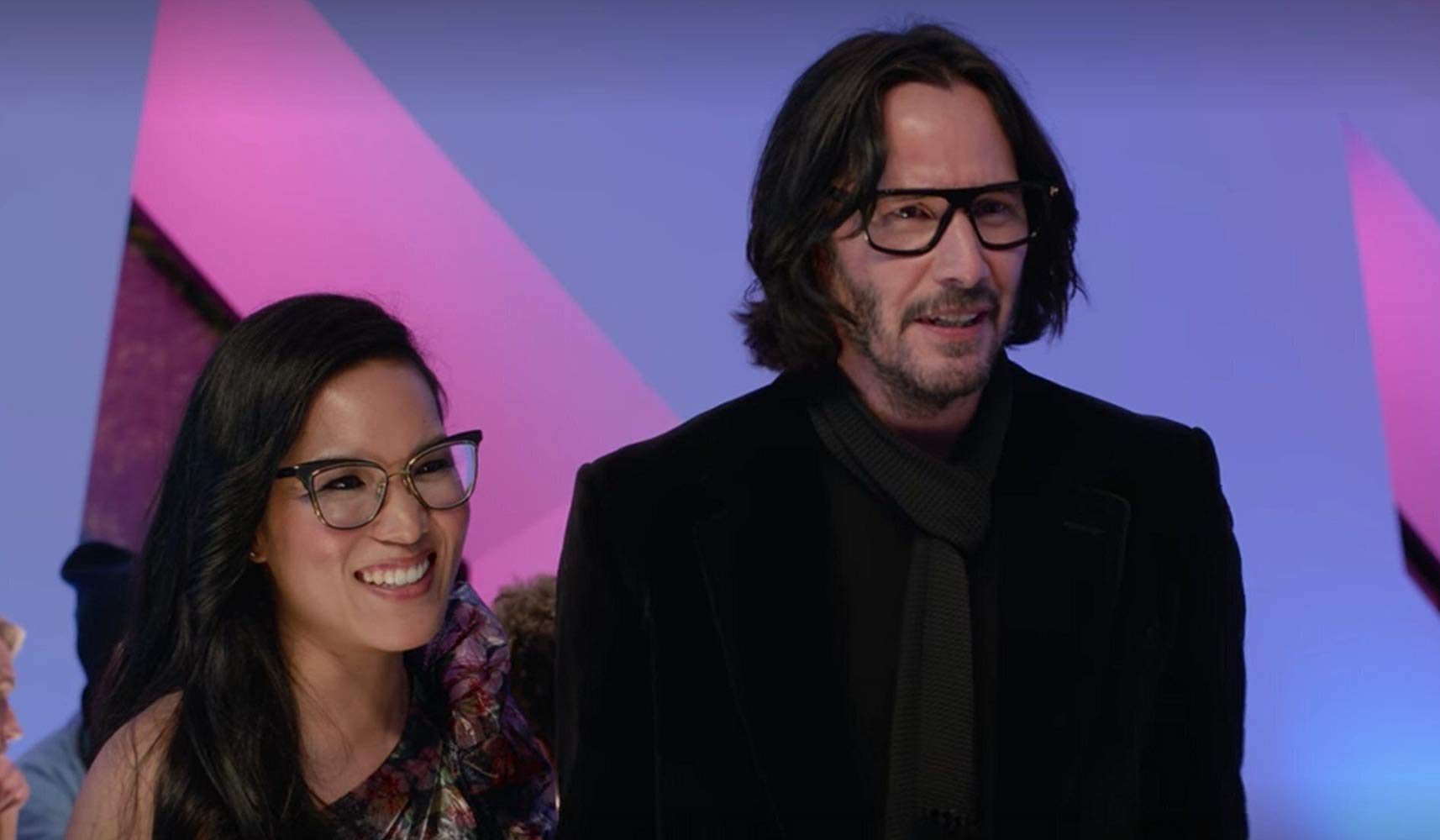 Ali Wong and Keanu Reeves in Always Be My Maybe Netflix Movie