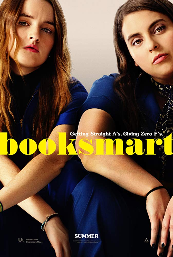 Beanie Feldstein and Kaitlyn Dever in Booksmart Annapurna Pictures Poster