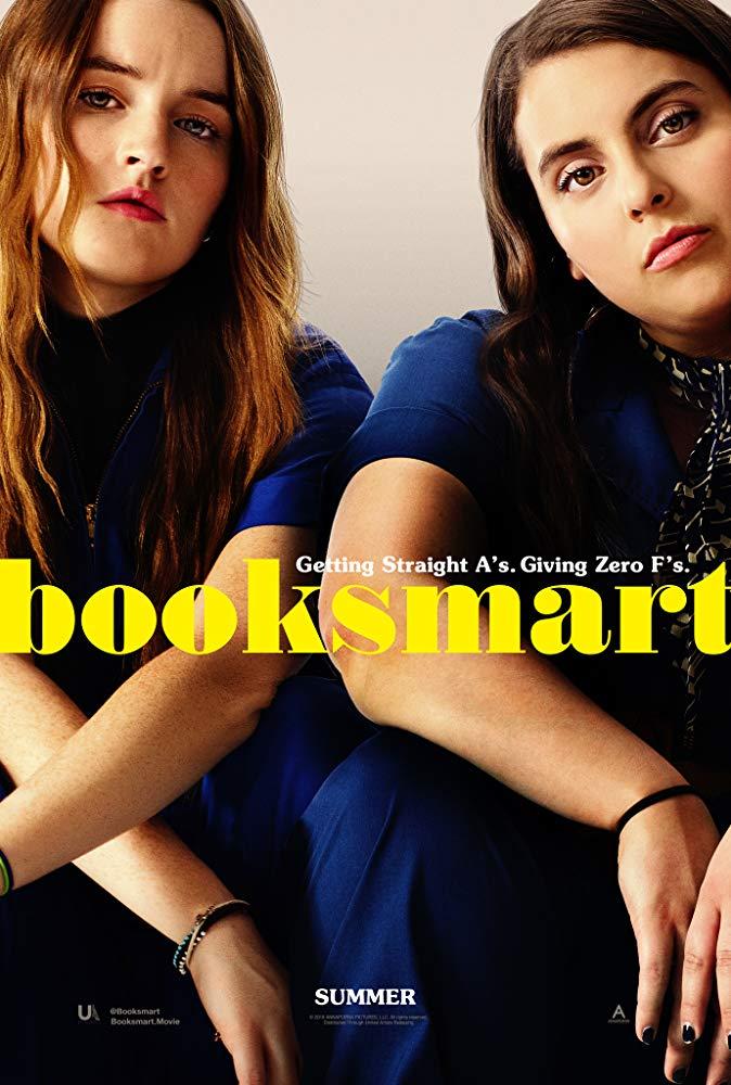 Beanie Feldstein and Kaitlyn Dever in Booksmart Annapurna Pictures Poster