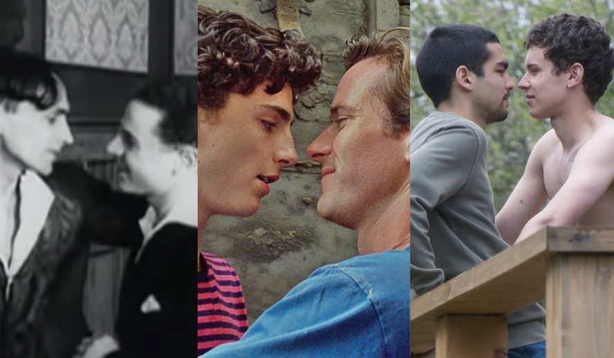 Gay Film TV LGBTQ+ Representation. Different From The Others. Call Me By Your Name. Omar and Ander Elite Netflix