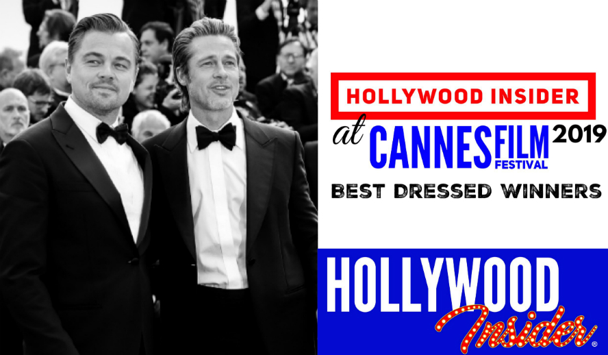Hollywood Insider's BEST DRESSED WINNERS Cannes Film Festival 2019 - Recap With Leonardo DiCaprio Brad Pitt Priyanka Chopra Jonas Nick Jonas Elle Fanning Ming Xi. Andreas Rentz/Getty Images