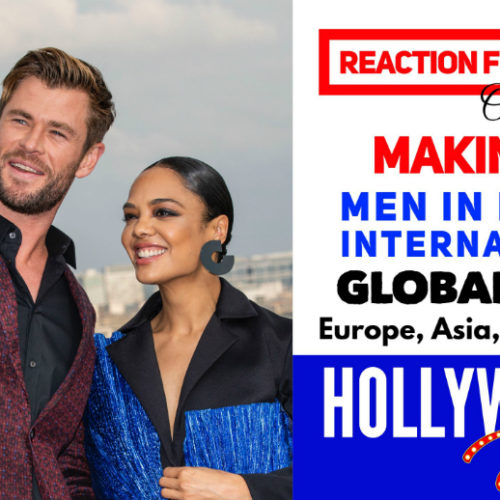 Watch: Reaction From Stars On The Making Of – <em>Men In Black: International</em> | Chris Hemsworth, Tessa Thompson & Gary Gray On A Global Tour – Indonesia, China, Russia, France, Brazil, UK & USA
