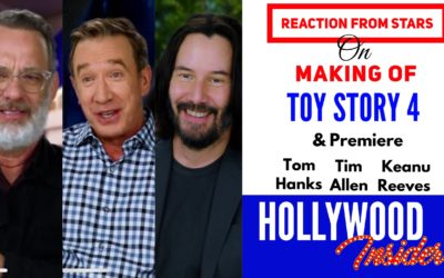 Watch: Reaction From Stars On The Making Of – Toy Story 4 | Tom Hanks, Tim Allen, Keanu Reeves & others