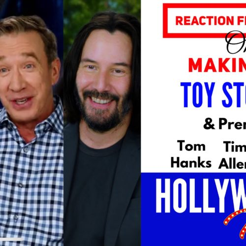 Watch: Reaction From Stars On The Making Of – <em>Toy Story 4</em> | Tom Hanks, Tim Allen, Keanu Reeves & others