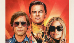 Once Upon A Time In Hollywood New Poster Cover