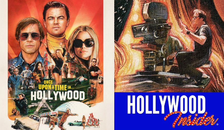 Quentin Tarantino In Once Upon A Time In Hollywood New Poster - Hollywood Insider