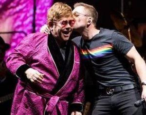 Taron Egerton Elton John Your Song Live Rocketman