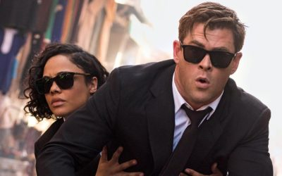 "Men In Black: International – Chris Hemsworth & Tessa Thompson in ""Trailer With A Scoop Of Trivia"""