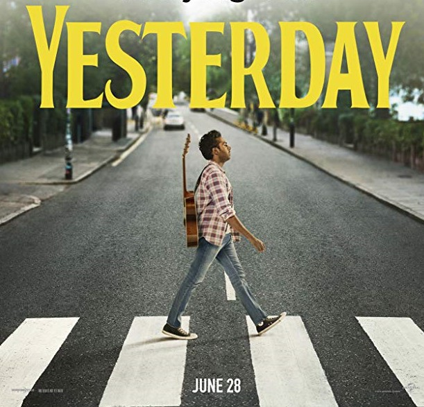 Himesh Patel as Jack Malik in Danny Boyle's Yesterday which is a tribute to The Beatles with Lily James, Kate McKinnon and Ed Sheeran in tow Abbey Road Poster 2