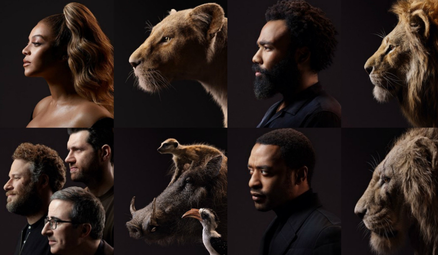 Hollywood Insider's The Lion King Disney Beyonce Donald Glover Seth Rogen Billy Eichner John Oliver Chiwetel Ejiofor
