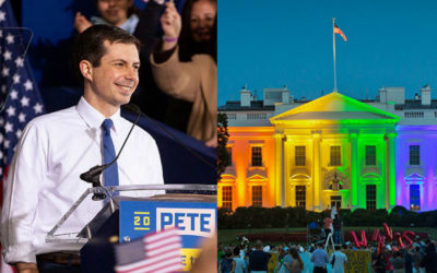 "WATCH: Would A President's Sexuality Matter To You? A Lesbian, Gay, LGBTQ President? Pete Buttigieg? – Hollywood Insider's ""Messages From America"" – Episode 3"