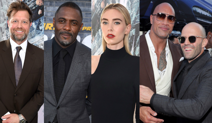 Hollywood Insider Dwayne Johnson Jason Statham Vanessa Kirby Idris Elba David Leitch Hobbs & Shaw Fast & Furious Behind The Scenes