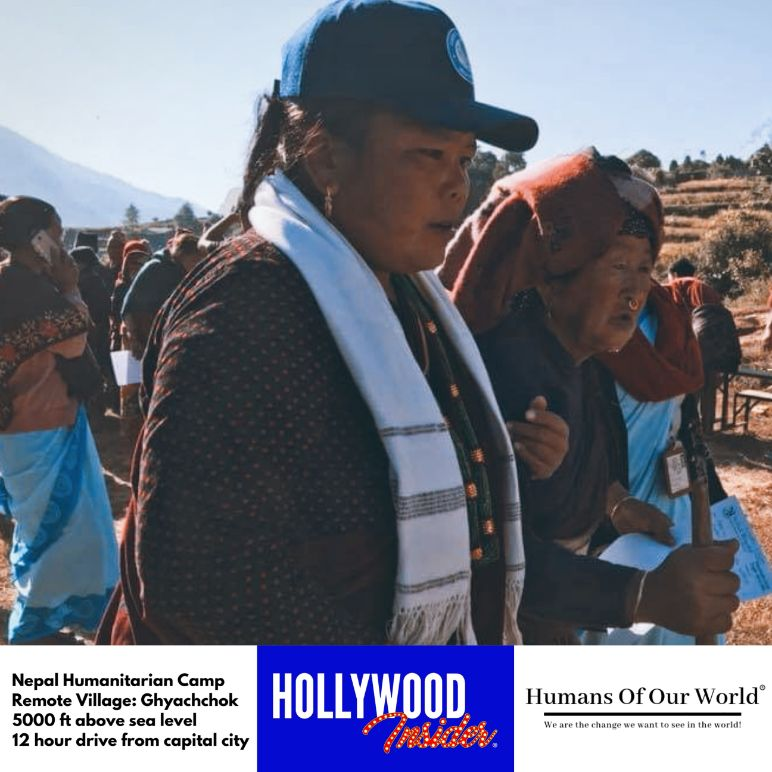 Hollywood Insider & Humans Of Our World Nepal Campaign Remember Forgotten Remote Villages Earthquake Victims And Donate Supported By Dame Judi Dench And Joanna Lumley OBE (11)