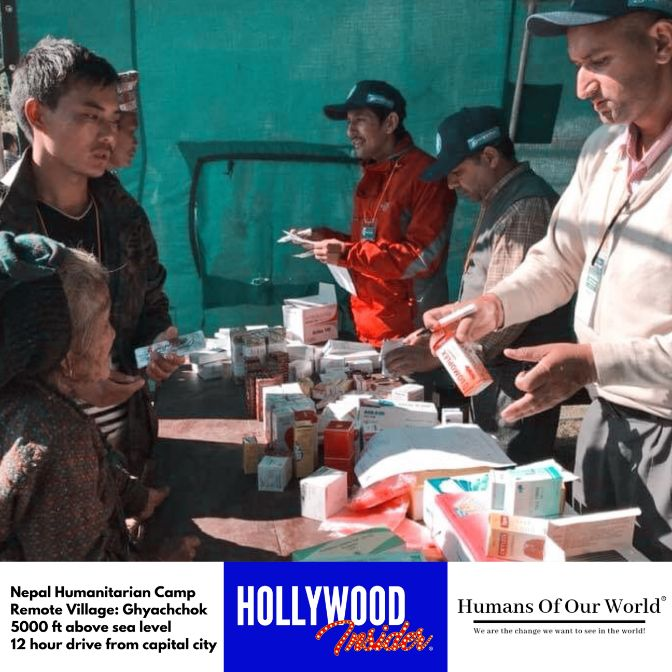 Hollywood Insider & Humans Of Our World Nepal Campaign Remember Forgotten Remote Villages Earthquake Victims And Donate Supported By Dame Judi Dench And Joanna Lumley OBE (12)