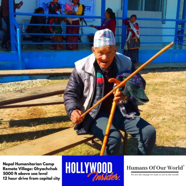 Hollywood Insider & Humans Of Our World Nepal Campaign Remember Forgotten Remote Villages Earthquake Victims And Donate Supported By Dame Judi Dench And Joanna Lumley OBE (13)
