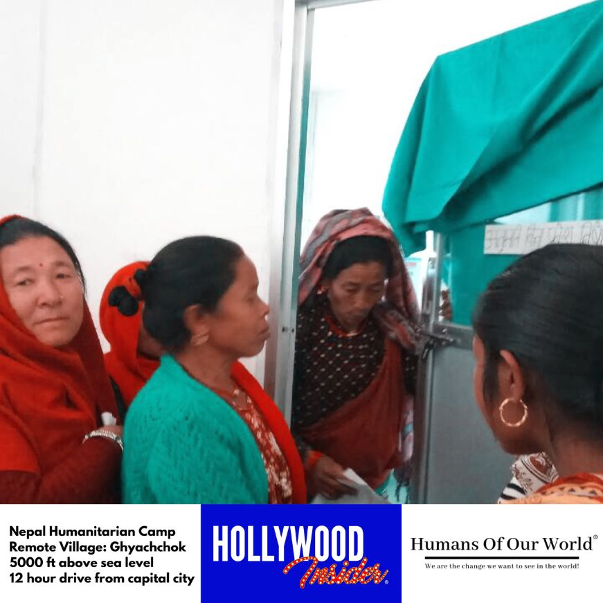 Hollywood Insider & Humans Of Our World Nepal Campaign Remember Forgotten Remote Villages Earthquake Victims And Donate Supported By Dame Judi Dench And Joanna Lumley OBE (14)