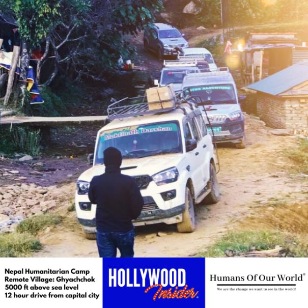 Hollywood Insider & Humans Of Our World Nepal Campaign Remember Forgotten Remote Villages Earthquake Victims And Donate Supported By Dame Judi Dench And Joanna Lumley OBE (15)