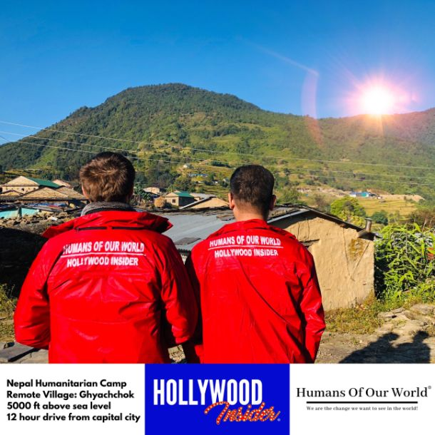 Hollywood Insider & Humans Of Our World Nepal Campaign Remember Forgotten Remote Villages Earthquake Victims And Donate Supported By Dame Judi Dench And Joanna Lumley OBE (17)