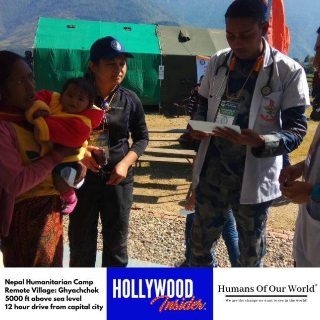 Hollywood Insider & Humans Of Our World Nepal Campaign Remember Forgotten Remote Villages Earthquake Victims And Donate Supported By Dame Judi Dench And Joanna Lumley OBE (18)