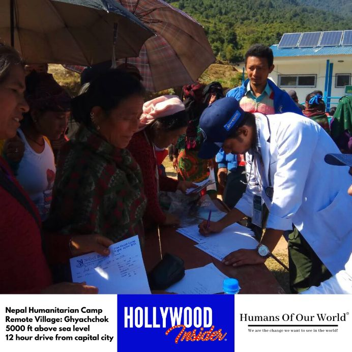 Hollywood Insider & Humans Of Our World Nepal Campaign Remember Forgotten Remote Villages Earthquake Victims And Donate Supported By Dame Judi Dench And Joanna Lumley OBE (19)