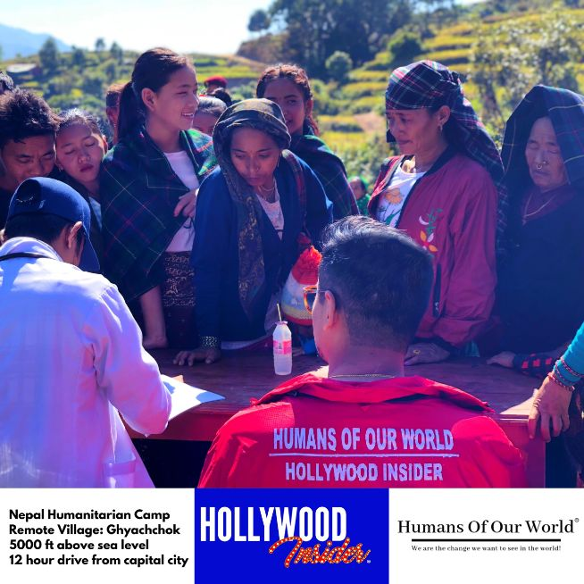 Hollywood Insider & Humans Of Our World Nepal Campaign Remember Forgotten Remote Villages Earthquake Victims And Donate Supported By Dame Judi Dench And Joanna Lumley OBE (2)