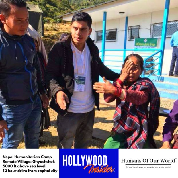 Hollywood Insider & Humans Of Our World Nepal Campaign Remember Forgotten Remote Villages Earthquake Victims And Donate Supported By Dame Judi Dench And Joanna Lumley OBE (20)
