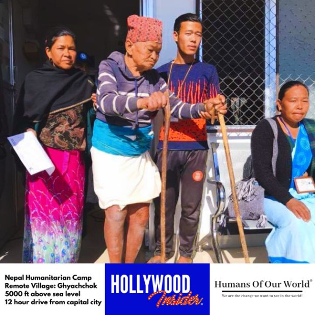 Hollywood Insider & Humans Of Our World Nepal Campaign Remember Forgotten Remote Villages Earthquake Victims And Donate Supported By Dame Judi Dench And Joanna Lumley OBE (21)