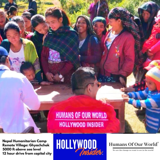 Hollywood Insider & Humans Of Our World Nepal Campaign Remember Forgotten Remote Villages Earthquake Victims And Donate Supported By Dame Judi Dench And Joanna Lumley OBE (24)