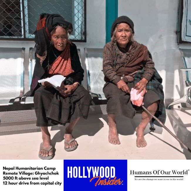 Hollywood Insider & Humans Of Our World Nepal Campaign Remember Forgotten Remote Villages Earthquake Victims And Donate Supported By Dame Judi Dench And Joanna Lumley OBE (4)