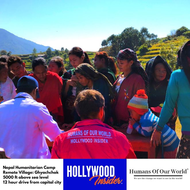 Hollywood Insider & Humans Of Our World Nepal Campaign Remember Forgotten Remote Villages Earthquake Victims And Donate Supported By Dame Judi Dench And Joanna Lumley OBE (5)