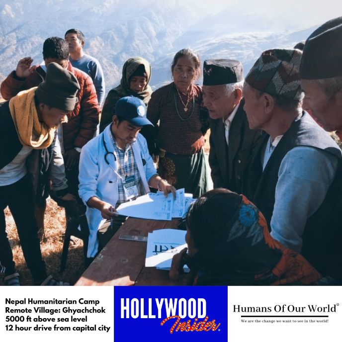 Hollywood Insider & Humans Of Our World Nepal Campaign Remember Forgotten Remote Villages Earthquake Victims And Donate Supported By Dame Judi Dench And Joanna Lumley OBE (6)