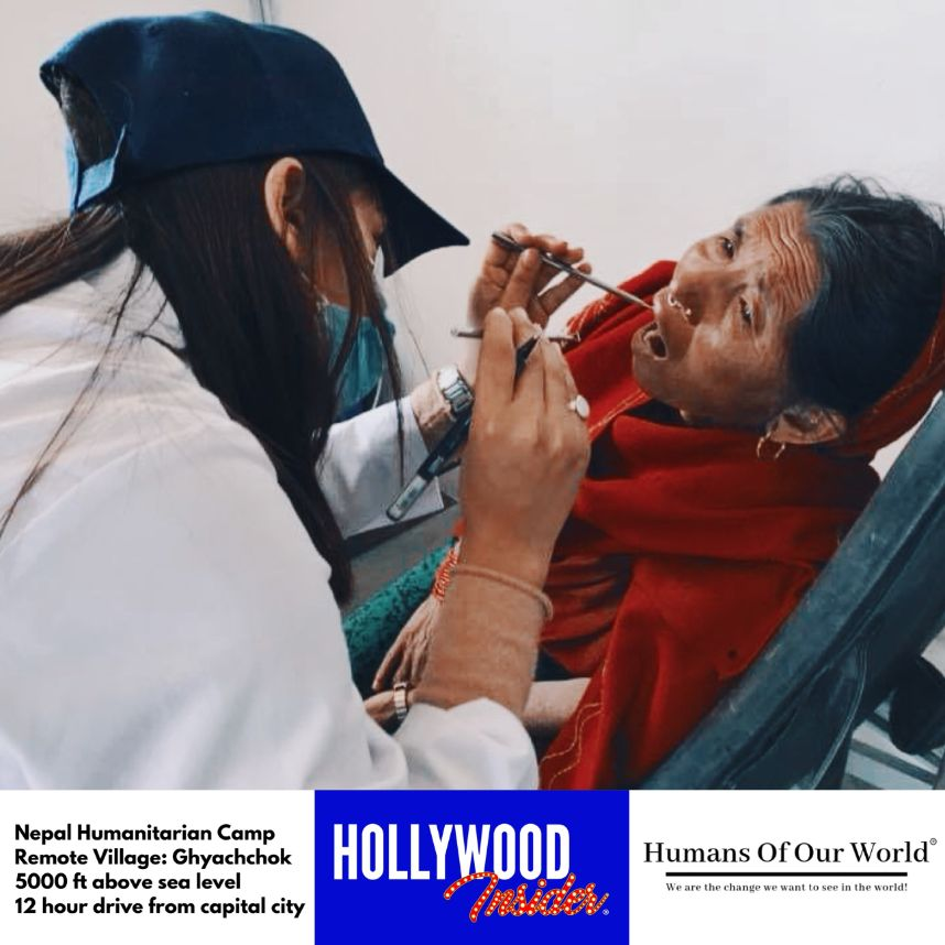 Hollywood Insider & Humans Of Our World Nepal Campaign Remember Forgotten Remote Villages Earthquake Victims And Donate Supported By Dame Judi Dench And Joanna Lumley OBE (7)