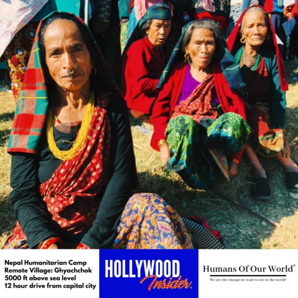 Hollywood Insider & Humans Of Our World Nepal Campaign Remember Forgotten Remote Villages Earthquake Victims And Donate Supported By Dame Judi Dench And Joanna Lumley OBE (8)