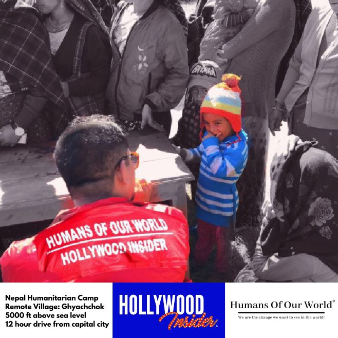 Hollywood Insider & Humans Of Our World Nepal Campaign Remember Forgotten Remote Villages Earthquake Victims And Donate Supported By Dame Judi Dench And Joanna Lumley OBE (9)
