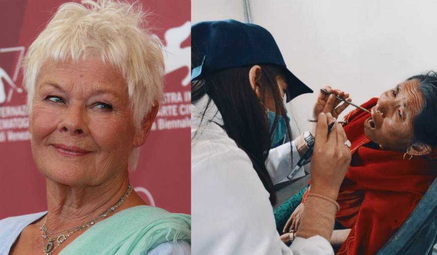 Hollywood Insider Reports Dame Judi Dench Supports Humans Of Our World Foundation Nepal Campaign To Ask All To Donate To Support Forgotten Victims Of Remote Villages