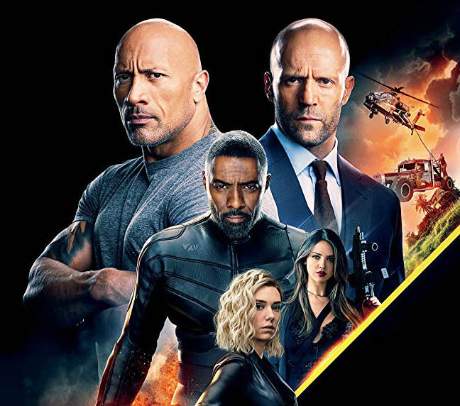 Hollywood Insider Review Hobbs & Shaw Fast and Furious Dwayne Johnson Jason Statham Idris Elba Vanessa Kirby David Leitch