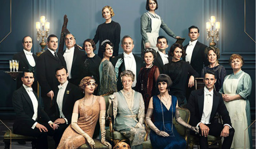 Hollywood Insider Reviews Downton Abbey Dame Maggie Smith