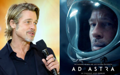 Watch: Reaction From Stars On The Making Of 'Ad Astra' With Brad Pitt & Real-Life NASA Astronauts