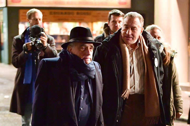 Hollywood Insider Behind The Scenes Netflix The Irishman Robert De Niro, Al Pacino, Martin Scorsese, Joe Pesci