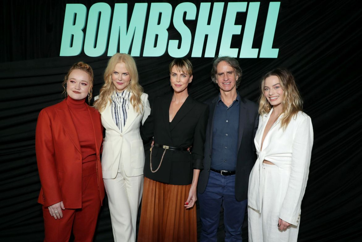 Hollywood Insider's Reaction From Stars Bombshell, Academy Award Winners Nicole Kidman, Charlize Theron, Margot Robbie, Jay Roach
