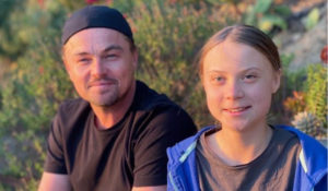 Hollywood Insider's Messages From America - Climate Change Is An Urgent Serious Issue? Leonardo DiCaprio And Greta Thunberg