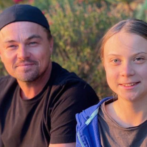 """WATCH: """"Is Climate Change An Urgent Issue Or Not A Worry For 100 Years?"""" Do You Support Leonardo DiCaprio & Greta Thunberg? - Hollywood Insider's 'Messages From America' – Episode 7"""