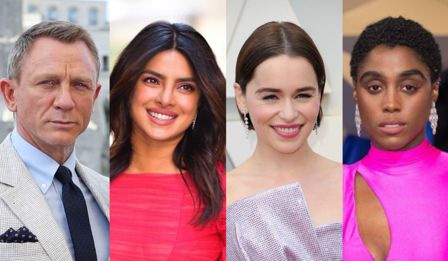 Hollywood Insider Feature Female James Bond 007 Daniel Craig, Priyanka Chopra, Emilia Clarke, Lashana Lynch