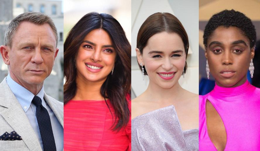 Hollywood Insider Feature Female James Bond 007 Daniel Craig, Priyanka Chopra, Emilia Clarke, Lashana Lynch