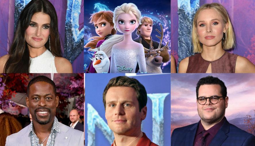 Hollyood Insider's Reactions From Stars Frozen 2 Idina Menzel, Kristen Bell, Jonathan Groff, Josh Gad, Sterling K Brown, Evan Rachel Wood, Chris Buck