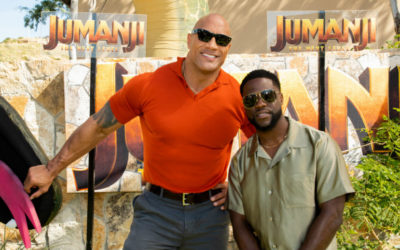 Watch: Reactions From Stars On 'Jumanji' With Dwayne Johnson, Kevin Hart, Awkwafina, Jack Black, Jake Kasdan, etc.