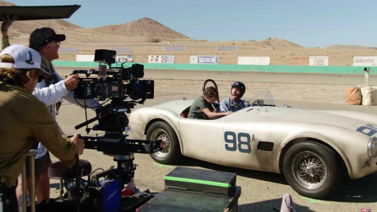 Hollywood Insider's Behind The Scenes, Ford V Ferrari, Christian Bale, Matt Damon, James Mangold